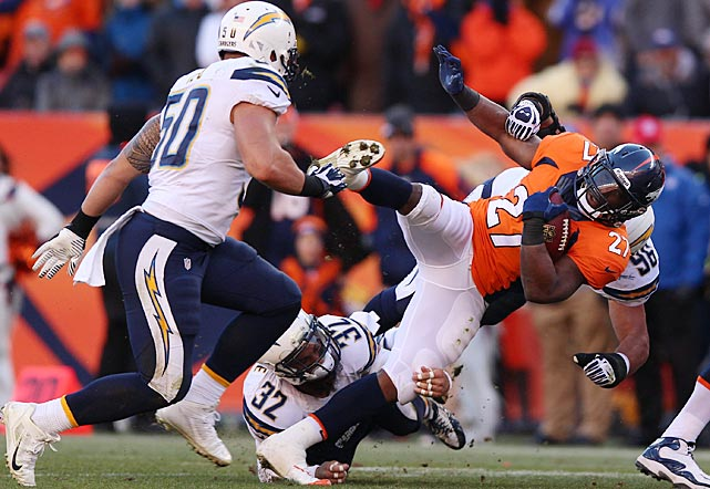 Knowshon Moreno spearheaded the Broncos running game.