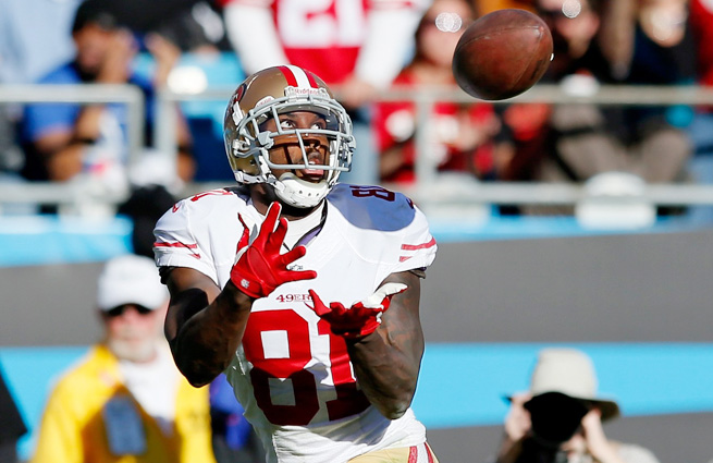 Anquan Boldin has tallied 33 catches for 554 yards and four touchdowns in his last six playoff games.