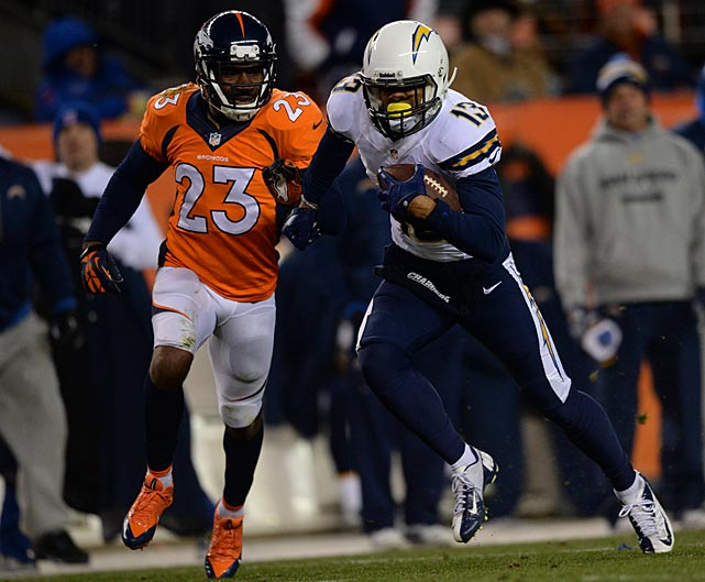 Sensational Chargers rookie receiver Keenan Allen burned the Broncos with a pair of touchdown receptions.