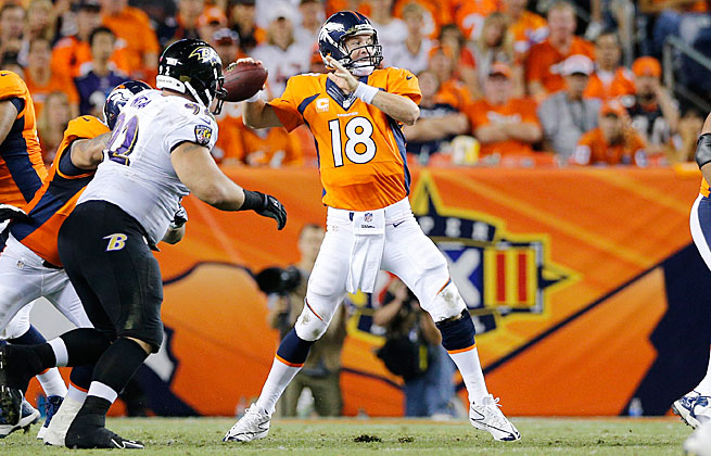 Peyton Manning's big Week 1 set the stage for a season that led many fantasy teams to the playoffs.
