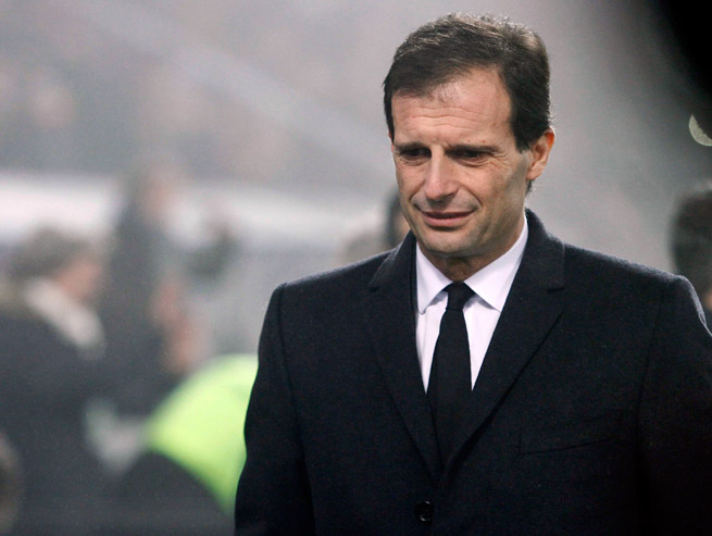 AC Milan fired coach Massimiliano Allegri after an embarrassing 4-3 loss to Sassuolo on Sunday.