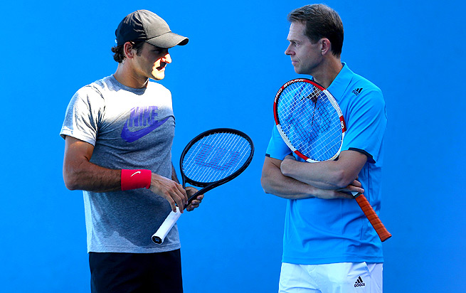Two of Stefan Edberg's Grand Slam titles came at the Australian Open -- in 1985 and 1987.