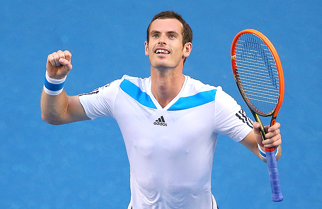 Unlike several other matches on Day 2, Andy Murray made quick work of Go Soeda in the first round of the Australian Open.