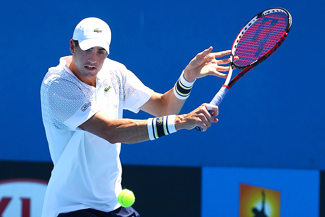 After pushing through the Heineken Open last week, John Isner was forced to retire from the Australian Open with an ankle injury.