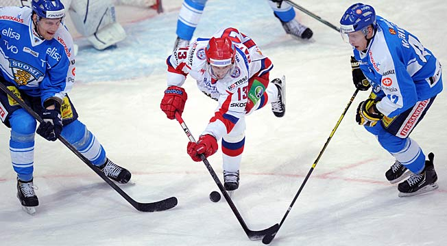 Datroit's Pavel Datsyuk's leadership and stick wizardry will make Team Russia a gold medal contender.