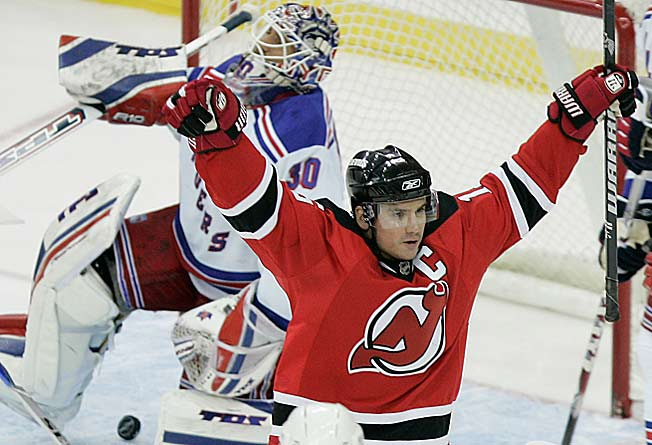 Jamie Langenbrunner, a 1993 second round pick by Dallas, spent almost nine years with the Devils.
