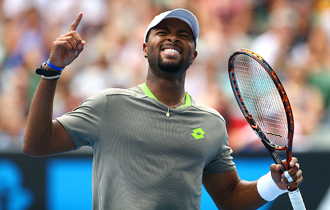 Donald Young bounced No. 24-seed Andreas Seppi to reach the third round of the Australian Open.