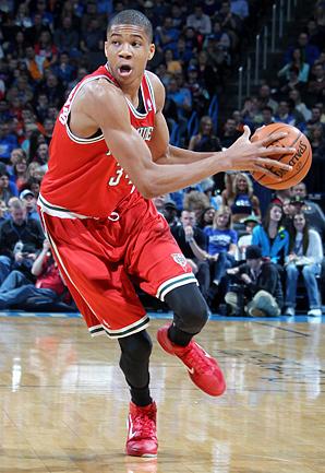 Rookie Giannis Antetokounmpo has impressed the Bucks with his rapid development.