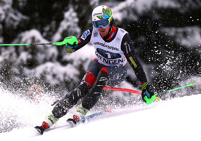 Ted Ligety had taken first in super-combined races before, but never during the World Cup season.