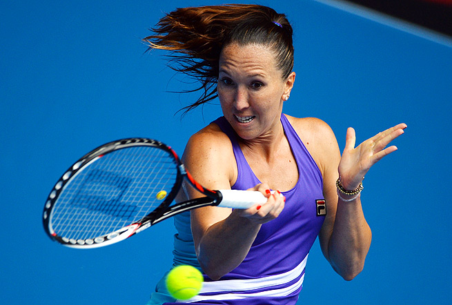 Jelena Jankovic has never won the Australian Open, but she reached the semifinals in 2008.