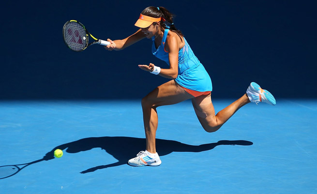 Ana Ivanovic had struggled in major tournaments before besting Serena Williams in the round of 16.