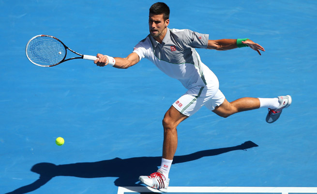 Novak Djokovic hasn't lost since the U.S. Open, a span on 28 straight wins for the Serbian.