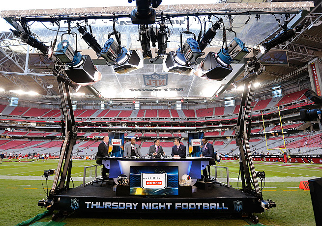 The NFL recently put its underperforming slate of Thursday night football games up for bid.