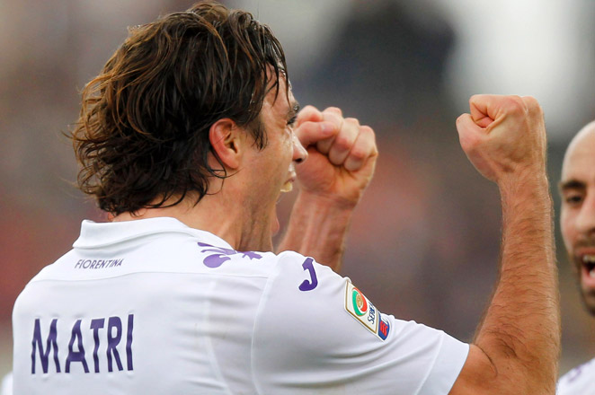 Fiorentina moved three points behind Napoli in the race for third place and the final Champions League berth.