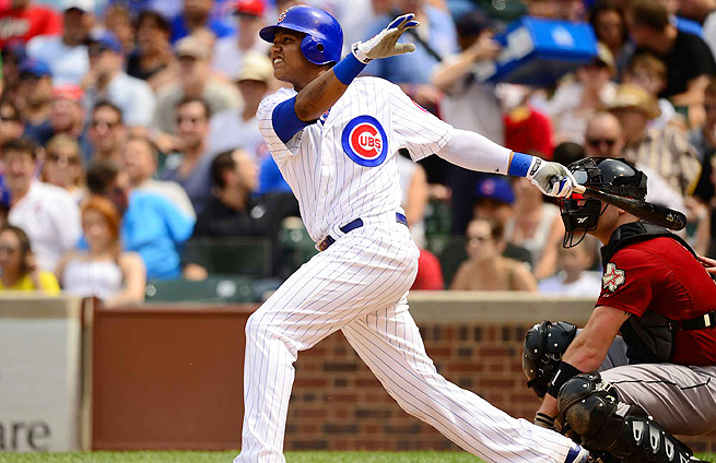 Despite not playing in a stacked lineup, Starlin Castro could break out offensively in 2014.