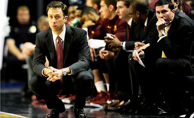 Richard Pitino's Minnesota Gophers have a chance at a signature win when they welcome Wisconsin this week.