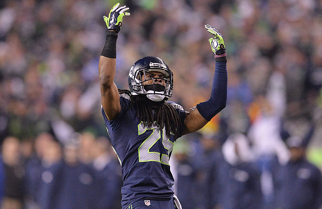 Richard Sherman and the Seahawks will face off against the Broncos in Super Bowl XLVIII.