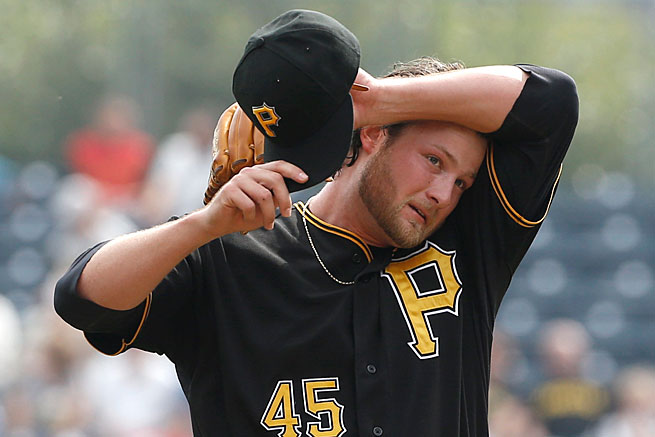Gerrit Cole helped the Pirates return to the postseason in 2013 but he saw a major increase in his workload.
