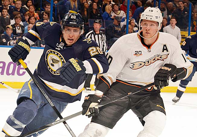 Alex Steen and the Blues have to prove they can get past Western powers like Corey Perry's Ducks.