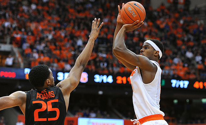 C.J. Fair is facing more defensive attention this season but that hasn't slowed his scoring.