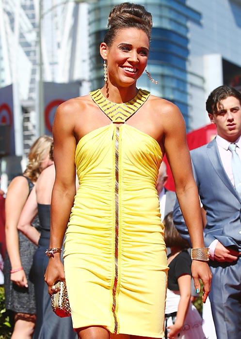 Jones at the ESPY Awards in Los Angeles.