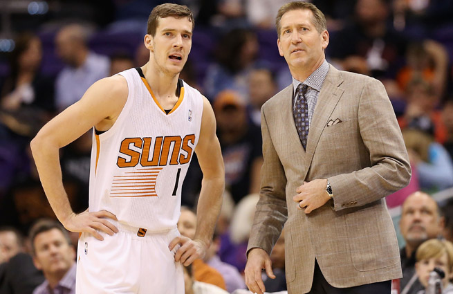 First-year head coach Jeff Hornacek has led the Suns to a 24-17 record, good for seventh in the West.
