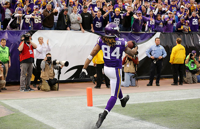 Cordarrelle Patterson led the NFL in kickoff return average (32.4) and kickoff return touchdowns (two).