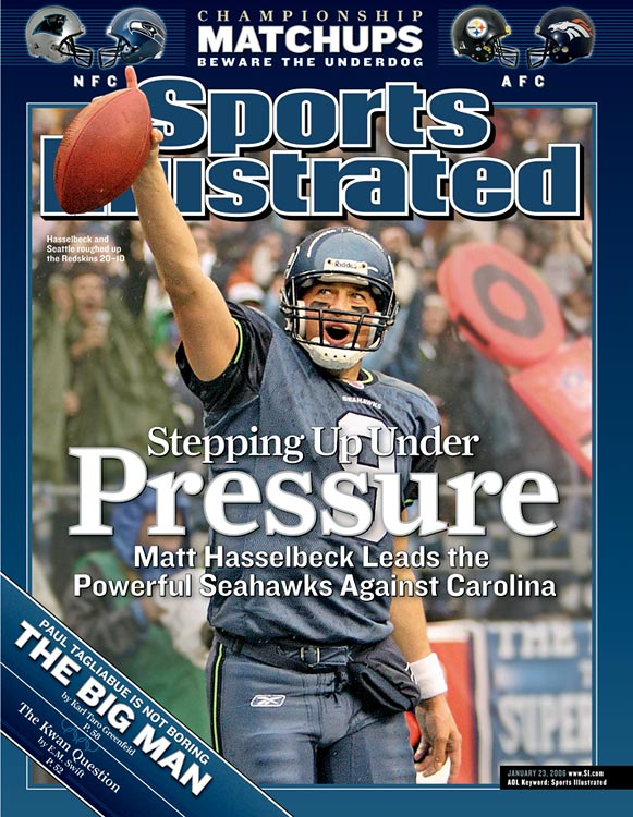 Never the flashiest quarterback, Matt Hasselbeck instead defined the role of game manager in his 10 years in Seattle. But he got the job done: Seattle made the playoffs six times with Hasselbeck under center, including a loss in Super Bowl XL. Hasselbeck may have characterized the game manager style of quarterbacking, but he was also named to three Pro Bowls and even tossed 28 touchdown passes and nearly 4,000 yards in 2007, his best statistical season.