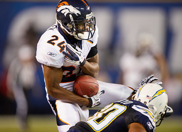 In 2004, Denver shipped promising young running back Clinton Portis to Washington in exchange for cornerback Champ Bailey. Champ had already spent five years in Washington -- four of which were Pro Bowl seasons -- but his play did not falter when he moved west. Instead, he became the most consistent lockdown cornerback of his generation, maintaining his level of play for nearly the entirety of his career. Since arriving in Denver, Bailey has been named to eight Pro Bowls and three first-team All-Pro squads.
