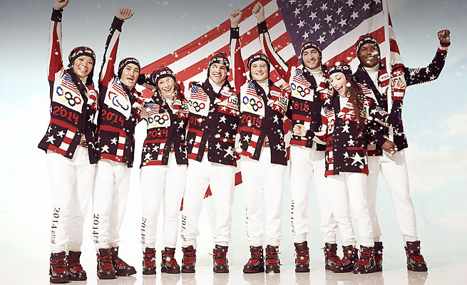 After the controversy at the London Games, Ralph Lauren's Sochi Olympic uniforms are made in the U.S.