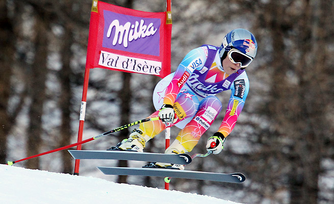Lindsey Vonn's knee buckled on a Dec. 21 run, forcing her to withdraw from competing in Sochi.