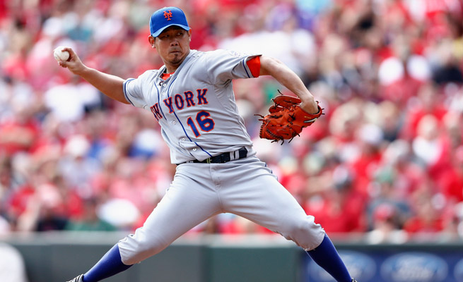 Daisuke Matsuzaka went 3-3 with a 4.42 ERA for the Mets in 2013 and will attend camp on a minor league deal.