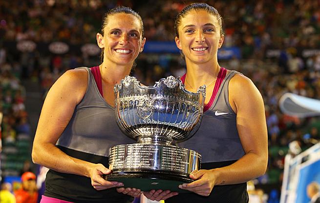Roberta Vinci and Sara Errani won their fourth Grand Slam doubles title as a team.
