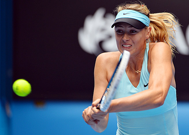Maria Sharapova lost to Dominika Cibulkova in the fourth round of the Australian Open.