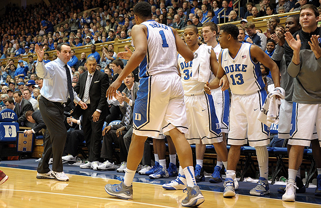 Mike Krzyzewski's Blue Devils have a chance to prove their worth against Pitt and Syracuse this week.
