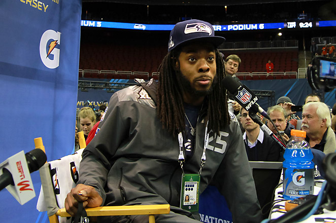 While everyone obsesses over Richard Sherman, the media personality, it's Richard Sherman, the cornerback, who could decide the Super Bowl.