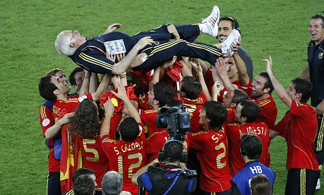 Luis Aragones will be best remembered for leading Spain to the 2008 European championship.