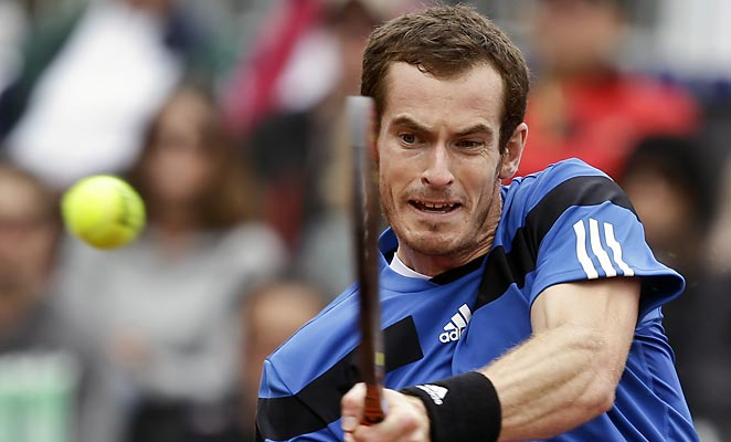 Andy Murray was replaced on the Davis Cup doubles team with Britain holding a commanding 2-0 lead.