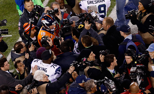 Would Fox ever consider trying a Super Bowl Megacast? Don't rule out the possibility.