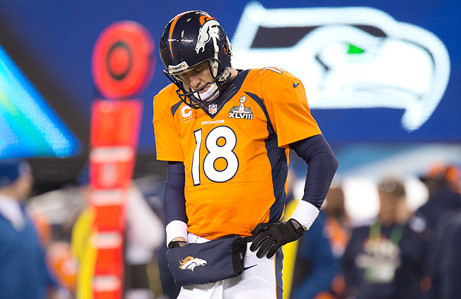 Following the loss to the Seahawks, Peyton Manning now owns an 11-12 career playoff record.