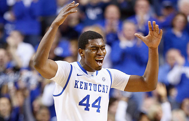 The energy Kentucky's Dakari Johnson plays with is a talent not easily defined by statistics.