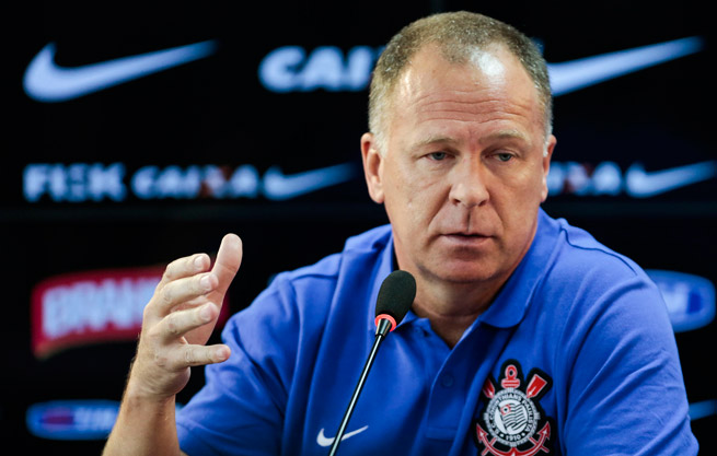 Corinthians manager Mano Menezes condemned the attack at his team's training ground this weekend.
