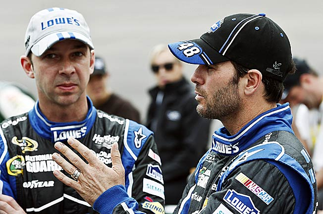 Crew chief Chad Knaus and driver Jimmie Johnson are no strangers to technical infraction penalties.