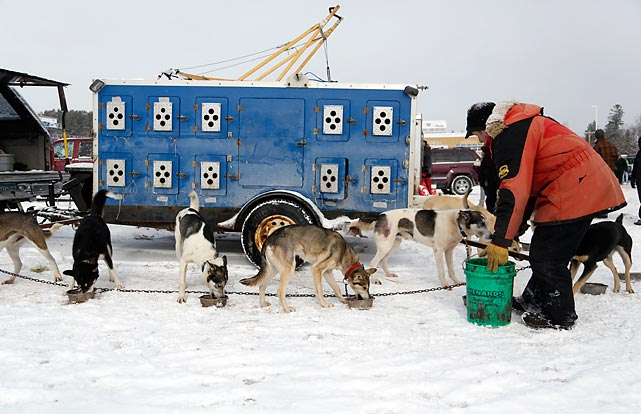 This year's Beargrease race was the 30th running of the marathon, which is a prequalifying race for the Iditarod in Alaska.