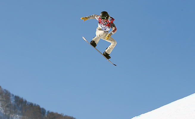 Like other snowboarders, Shaun White expressed concern with the 'intimidating' slopestyle course.