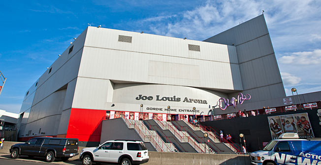 Joe Louis Arena has been the home of the Detroit Red Wings since 1979.