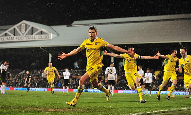 Shaun Miller scored the only goal as Sheffield United knocked Fulham out of the FA Cup on Tuesday.