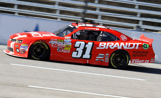 Justin Allgaier will drive the one full-time car for the rebranded HScott Motorports team.