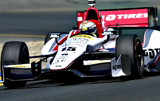 Graham Rahal was valued as a spokesman by the National Guard for his patriotism.
