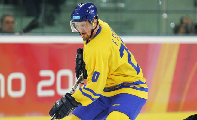 Henrik Sedin has scored 12 goals and 27 points for Sweden in international play, but will miss the 2014 Olympics due to injury.